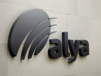 Alya restyling logo corporate identity