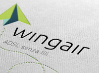 logo design imola - Wingair