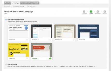 piattaforma per campagne newsletter e mail marketing