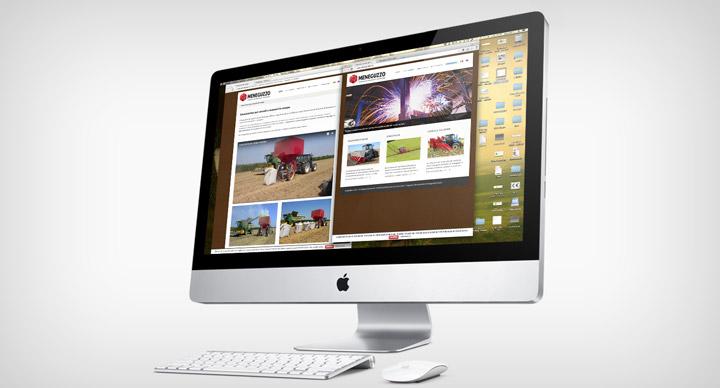sito web Castel Guelfo Meneguzzo iMac