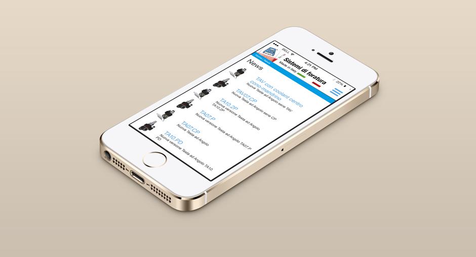 iPhone con nuovo sito omg