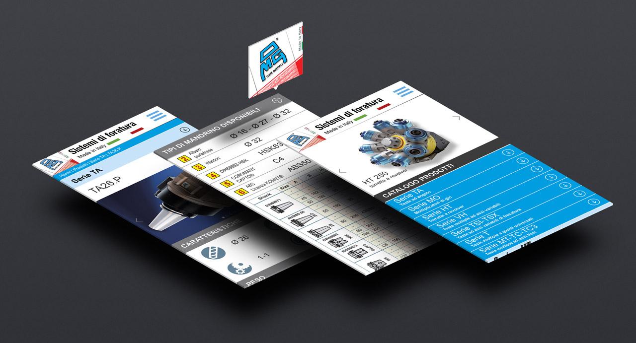 Web design ottimizzato per siti web su desktop e for Siti mobili design