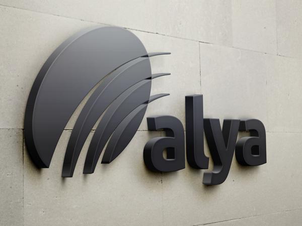Alya restyling logo corporate identity